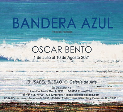 Imagen: Exposición 'Bandera azul' de Óscar Bento