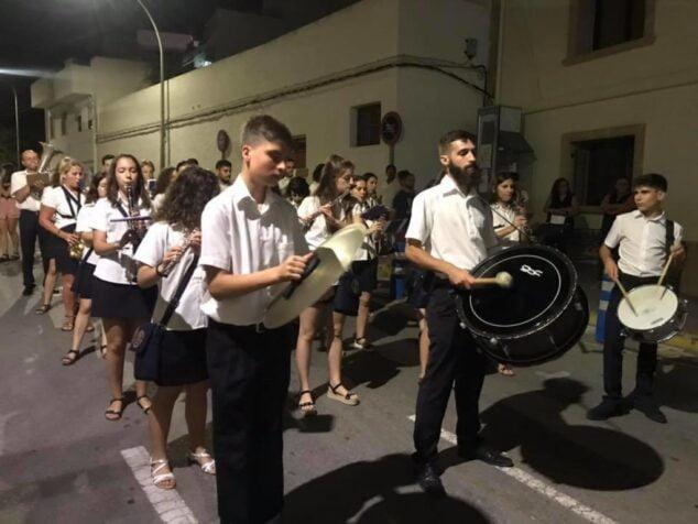 Imagen: Fiesta en honor a Santa María Magdalena