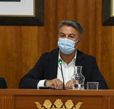 Imagen: José Chulvi, alcalde de Xàbia