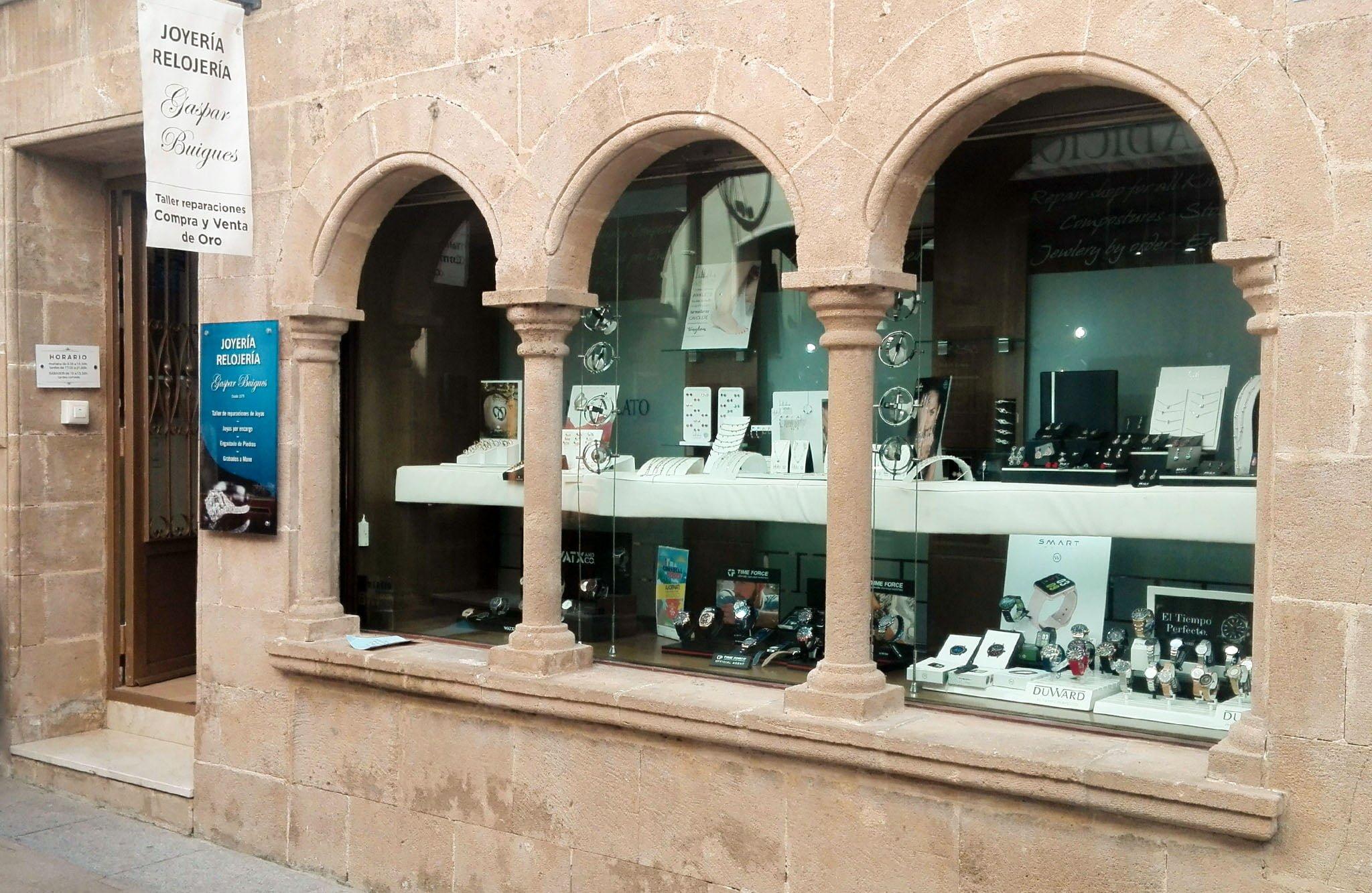 Joyería – Relojería Gaspar Buigues reparación de relojes