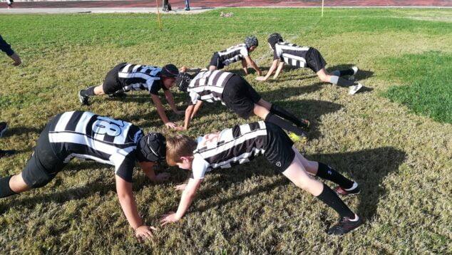 Imagen: Niños del Xabia Aguiles Rugby