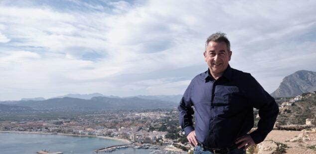 Imagen: Bernhard Feiner nuevo portavoz del Círculo de Podemos  Xàbia