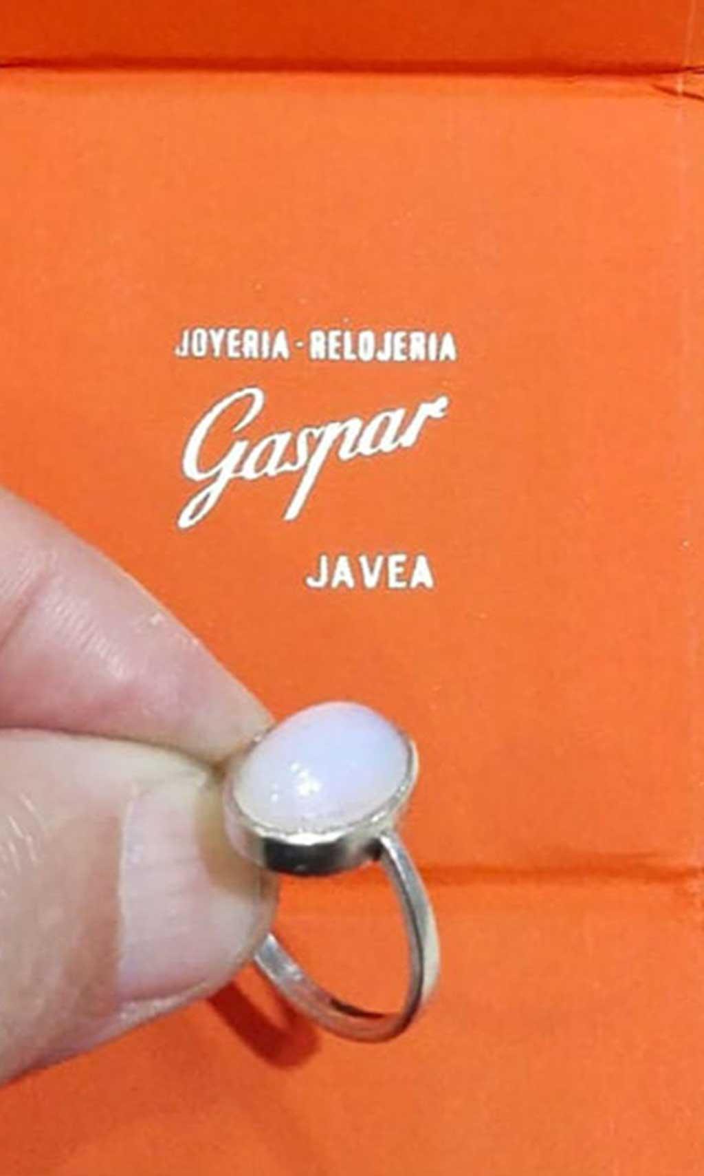 Piedra-Ópalo Joyería-Relojería Gaspar Buigues