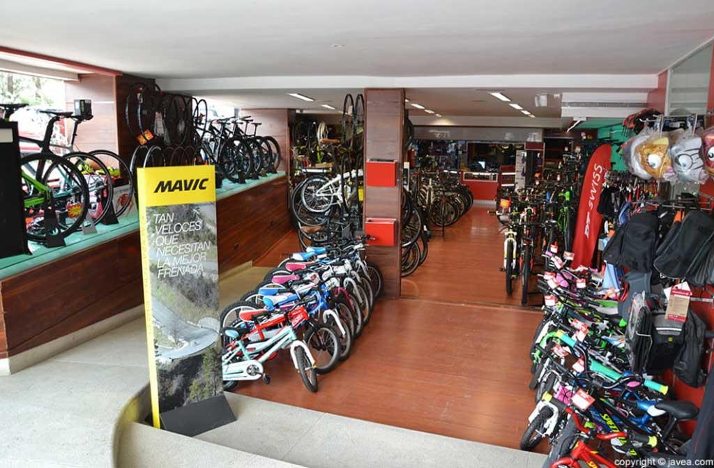 Reparación de bicicletas en Xabias Bikes