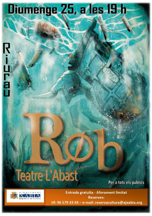 Imagen: Representación de la obra 'Rob' en Xàbia