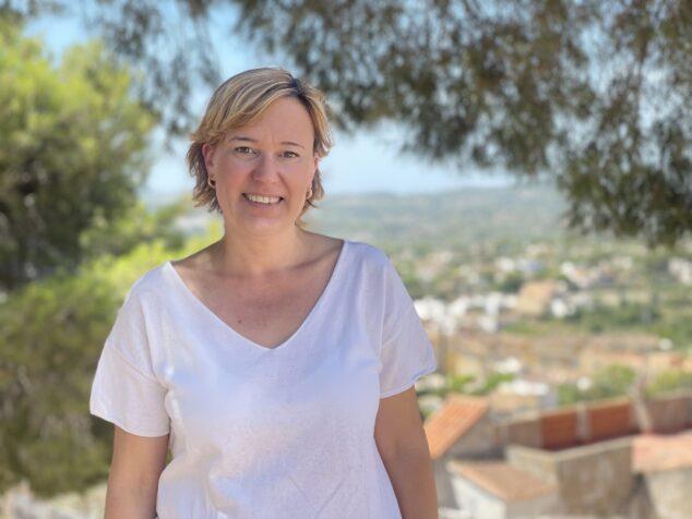 Imagen: Rosa Cardona, portavoz del Partido Popular de Xàbia