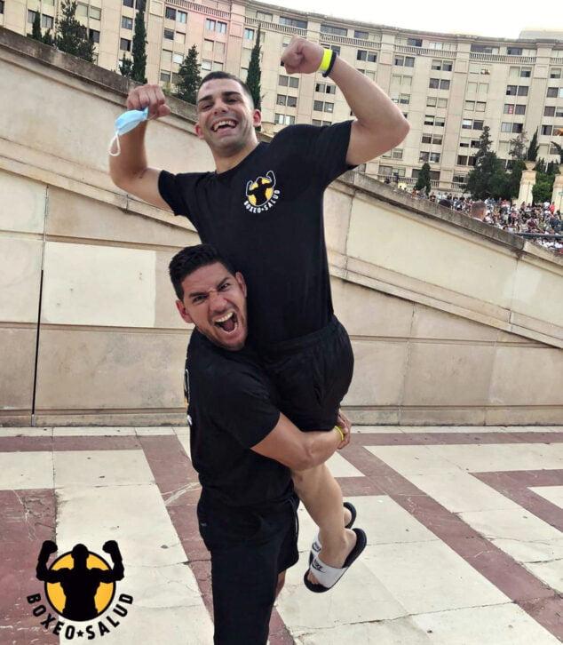 Imagen: Santi Catalá gana su primer combate como profesional