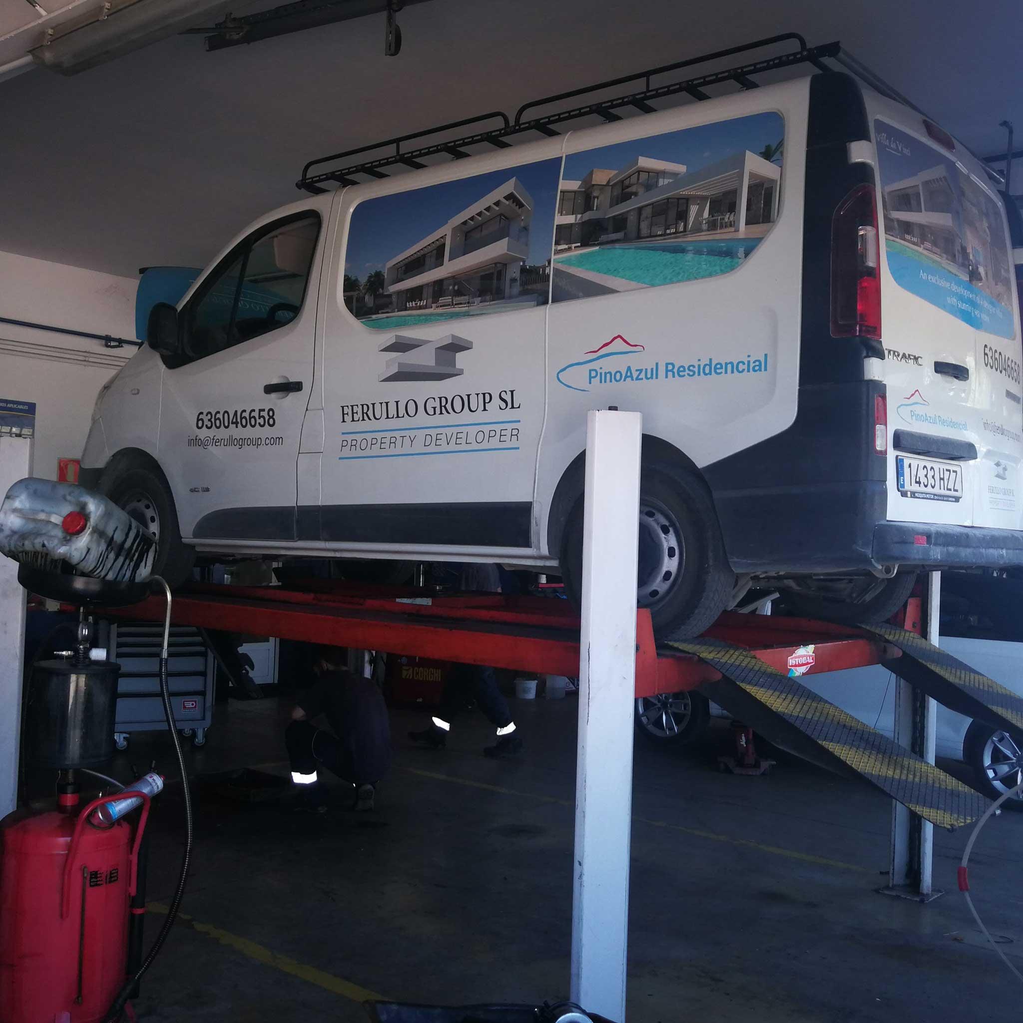Taller furgonetas Javea – Taller La Mezquida Xàbia