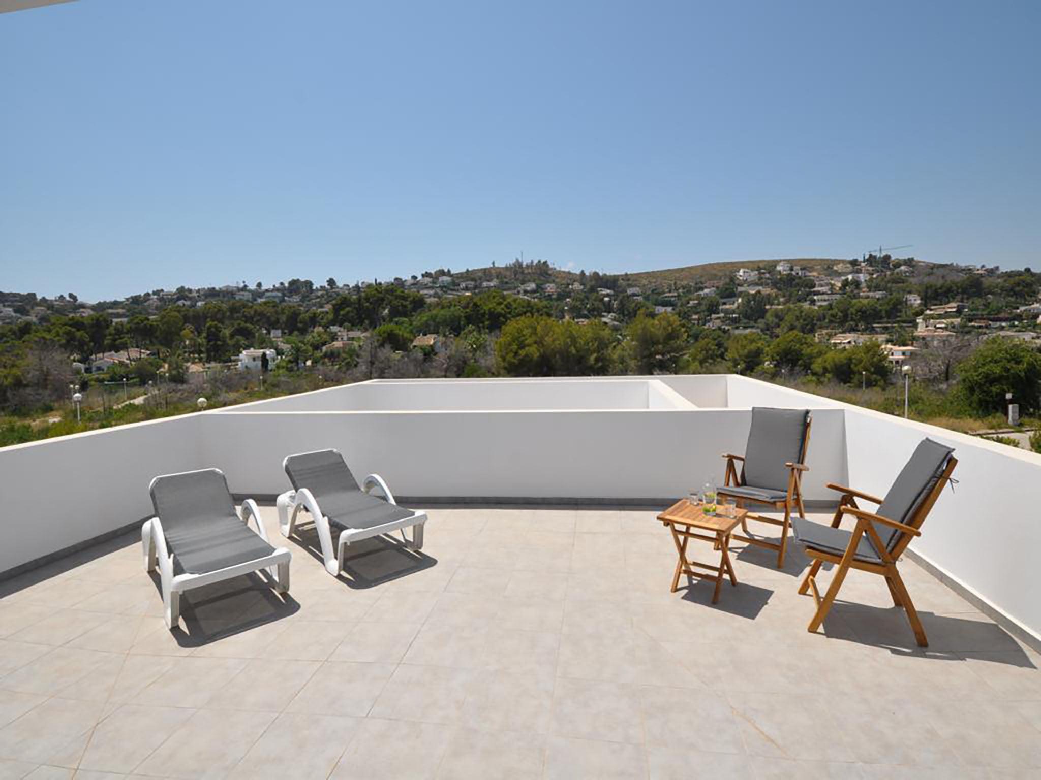 Terraza con vistas Atina Inmobiliaria