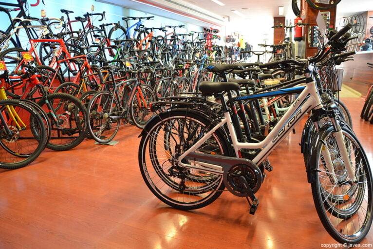 Variedad bicicleta Xabias bike
