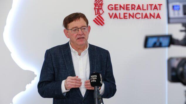 Imagen: Ximo Puig, president de la Generalitat