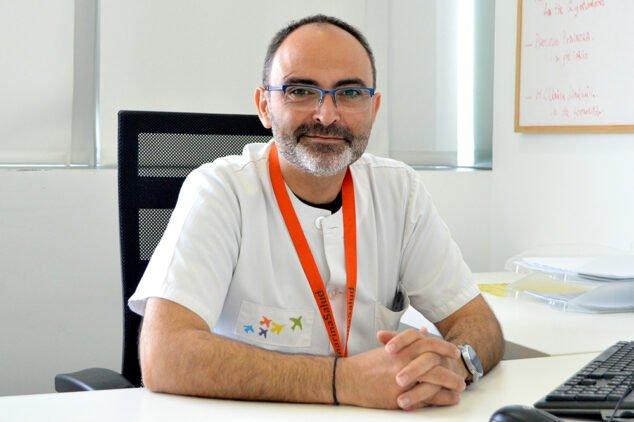 Imagen: Antonio Barceló, médico del Departamento de Salud de Dénia