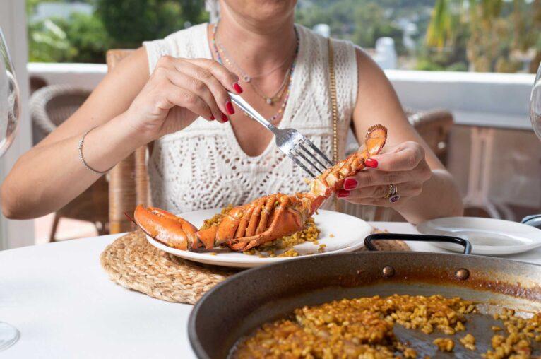 Arroz con bogavante en Javea - Restaurante Ritual de Terra