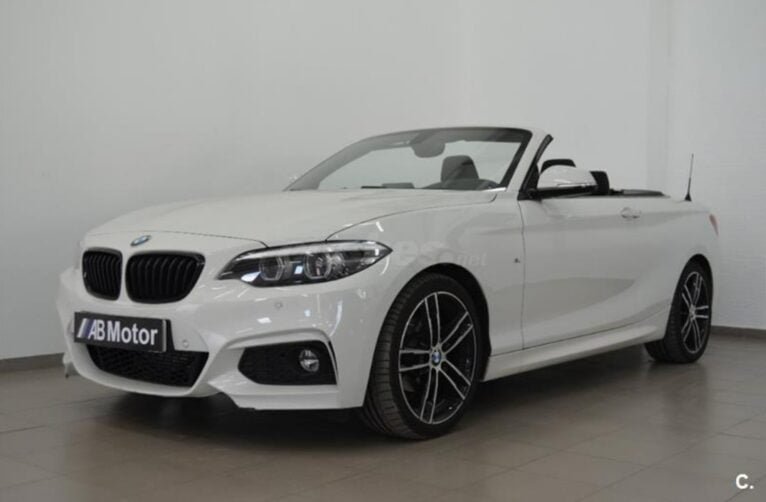 BMW serie 2 blanco - AB Motor