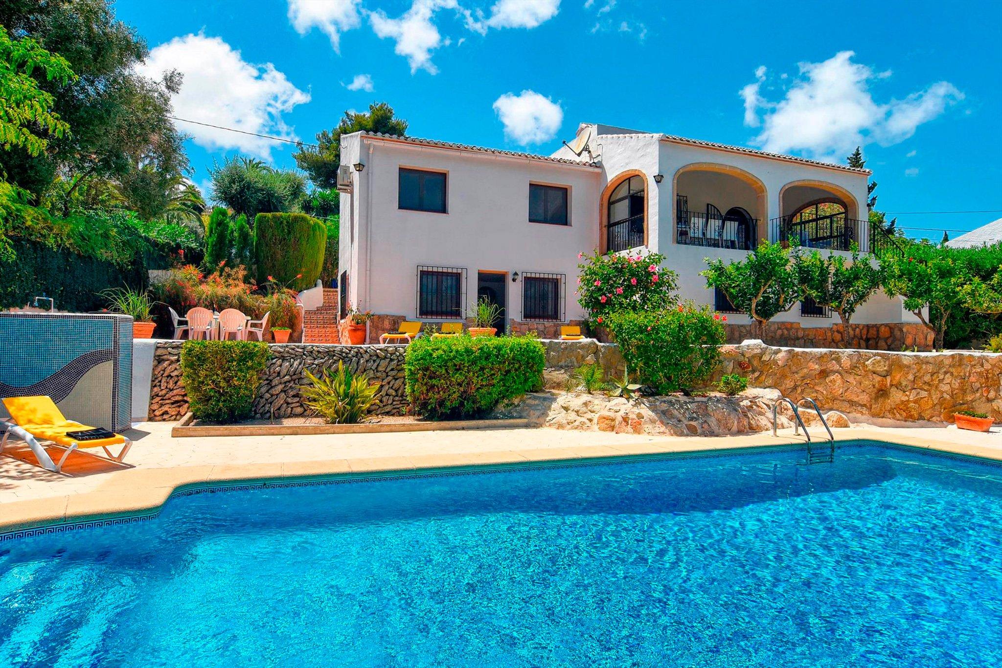 Casa vacacional con piscina Javea – Aguila Rent a Villa