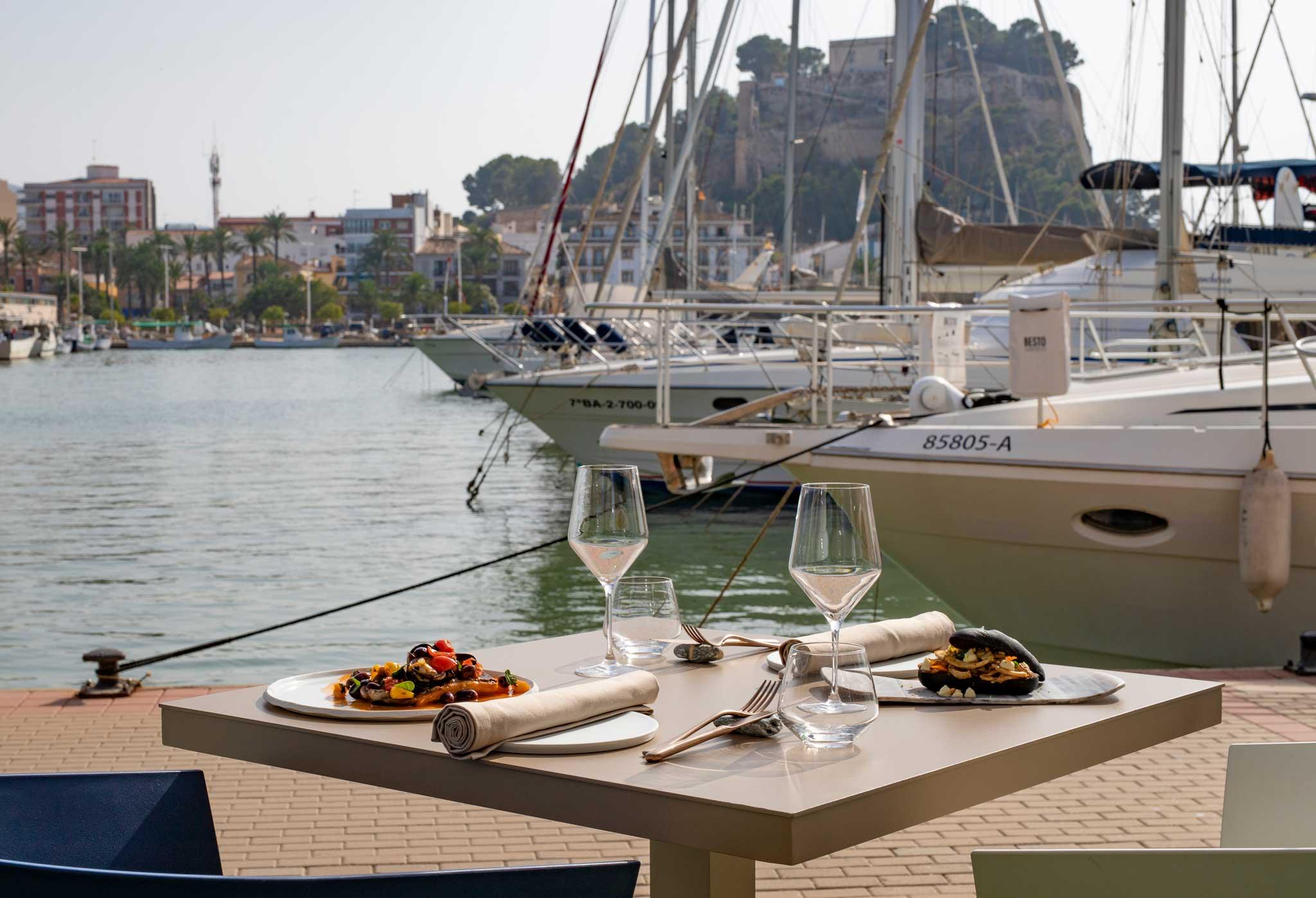 Comer con vistas al mar Denia – Restaurante Nomada