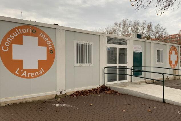 Imagen: Consultorio médico del Arenal de Jávea