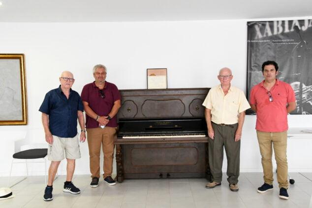 Imagen: Donan el piano que sonaba en Xàbia en los años 30