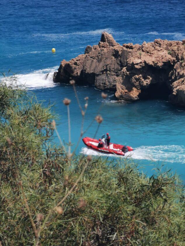 Imagen: Embarcación de Cruz Roja Jávea