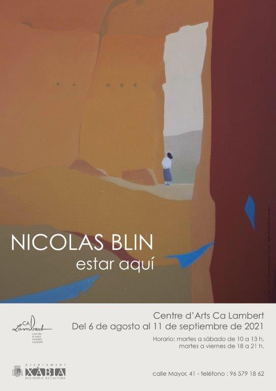 Imagen: Exposición de Nicolás Blin