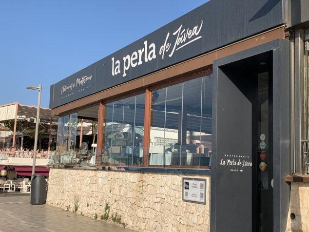 Imagen: Exterior del Restaurante La Perla de Jávea