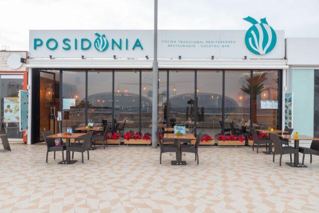 Imagen: Fachada del Restaurante Posidonia