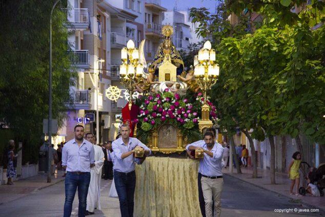 Imagen: Foto de archivo de la procesión de la Virgen de Loreto