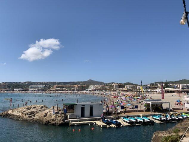 Imagen: Playa del Arenal de Xàbia