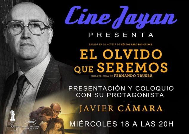 Imagen: Javier Cámara en el Cine Jayan