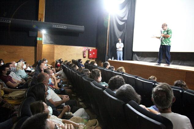 Imagen: Javier Cámara presenta 'El olvido que seremos' en el Cine Jayan
