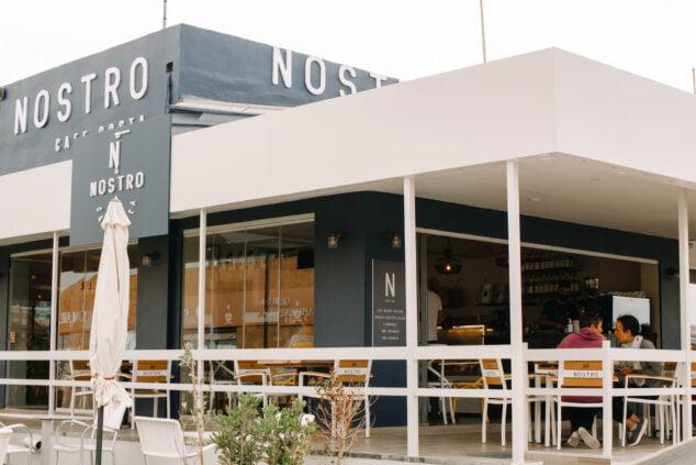 Imagen: Nostro Café Costa en playa del Arenal