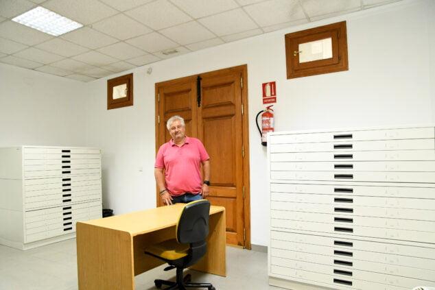 Imagen: Nuevos armarios para el Arxiu municipal