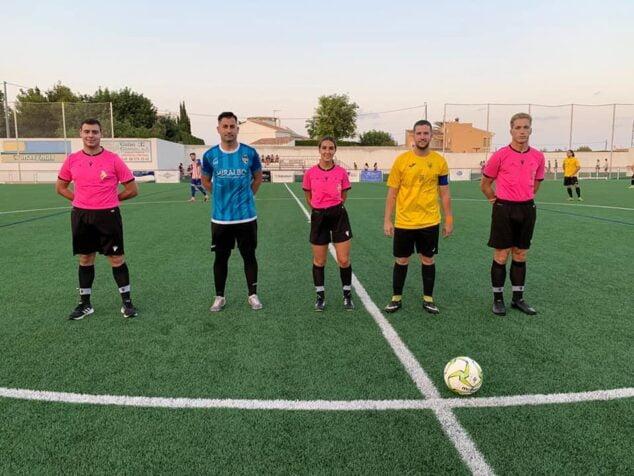 Imagen: Partido de pre-temporada CD Jávea-CF Benitatxell