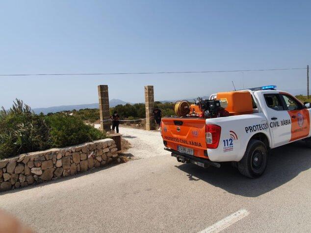Imagen: Protección Civil realiza labores de prevención ante la ola de calor
