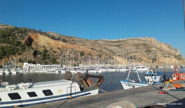 Imagen: Puerto pesquero de Xàbia