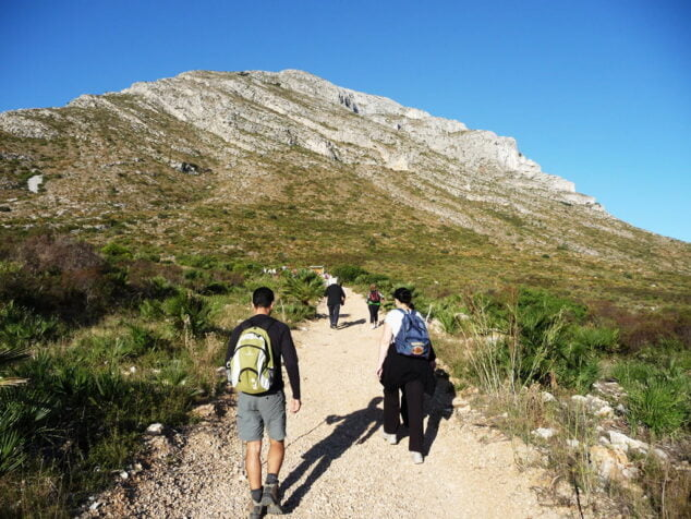 Imagen: Ruta al Montgó