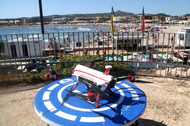 Imagen: Ximo Puig anuncia el uso de drones para frenar ahogamientos en las playas