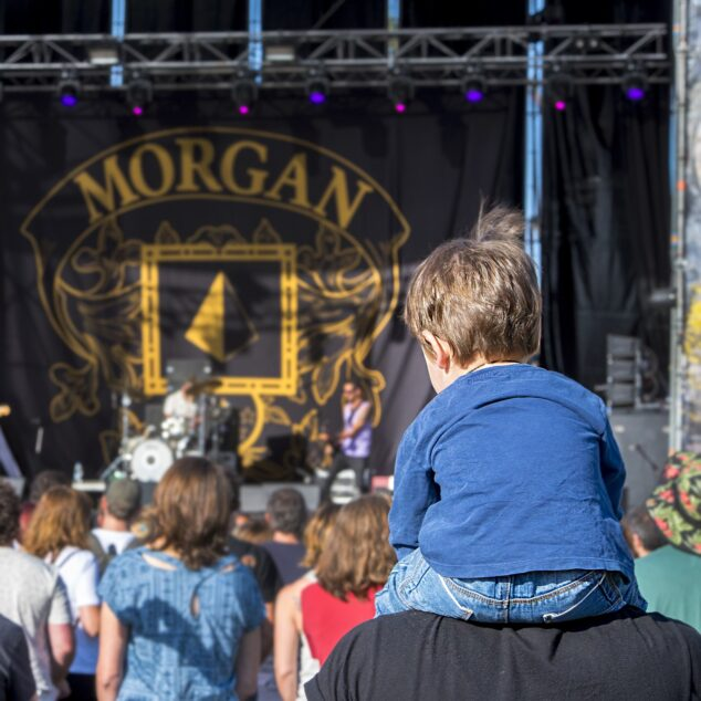 Imagen: Acceso de niños en el Montgorock