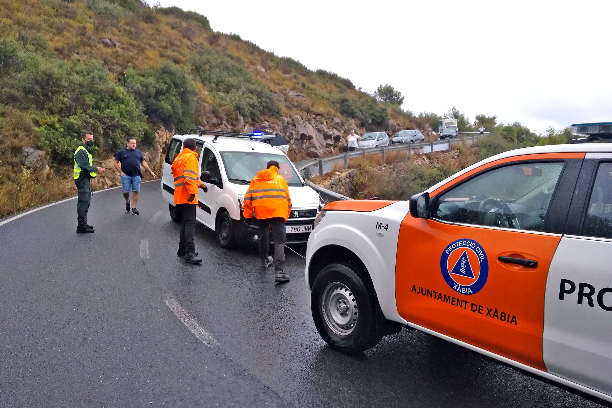 Accidente en la Carretera de Les Planes (1)