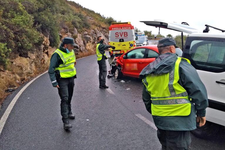 Accidente en la Carretera de Les Planes (2)