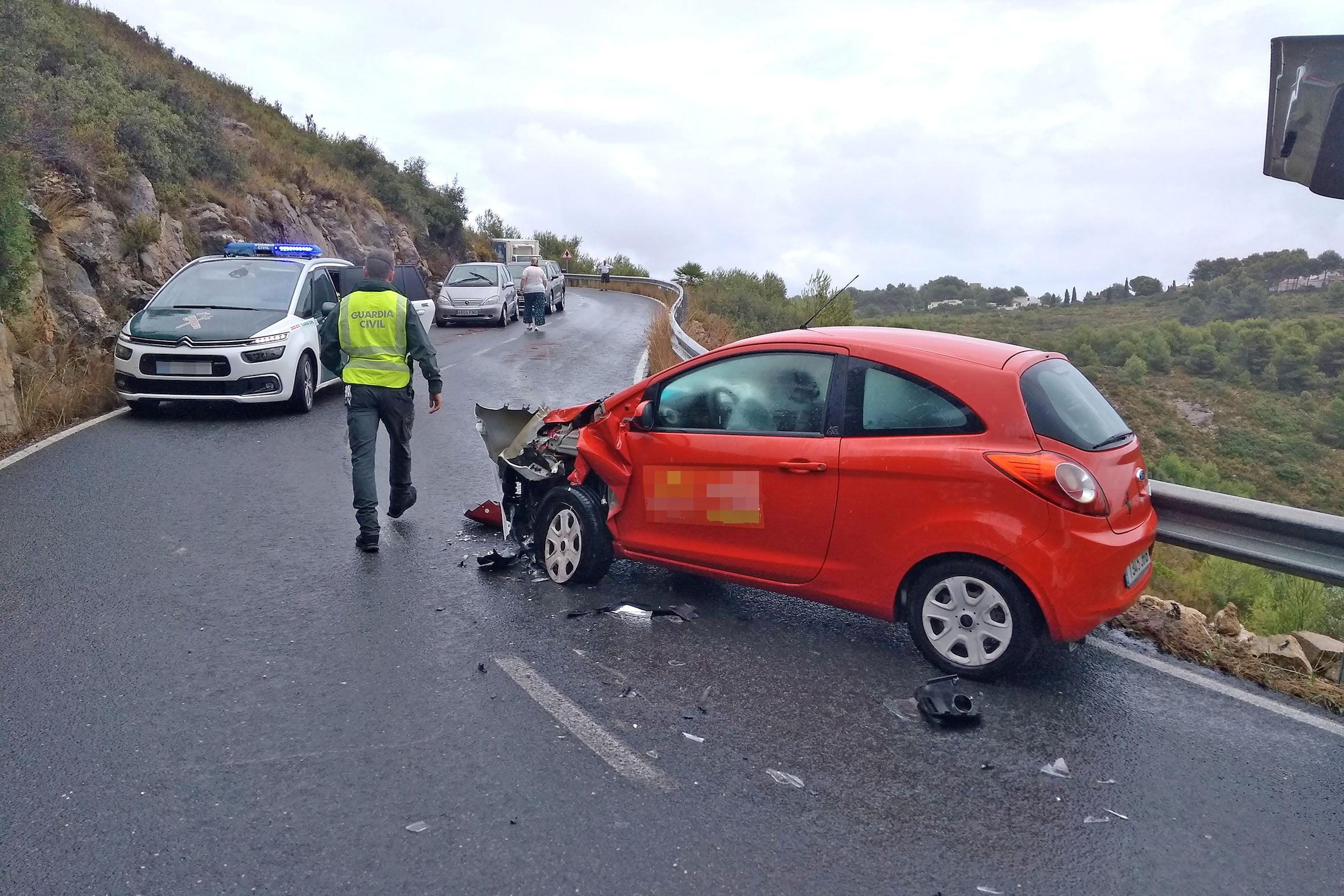 Accidente en la Carretera de Les Planes (3)