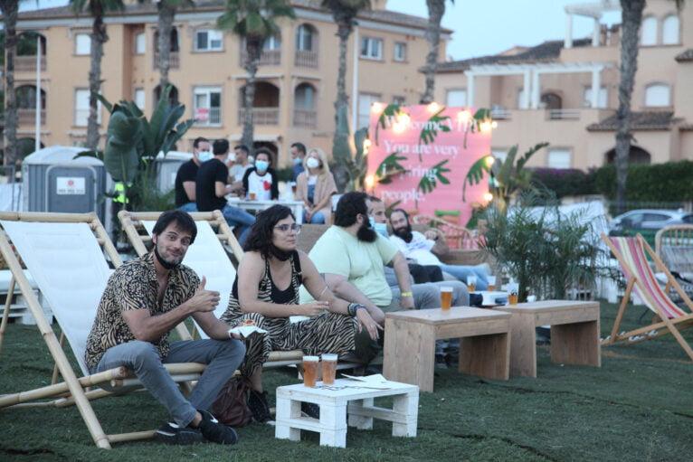 Ambiente en el Montgorock Xàbia Festival
