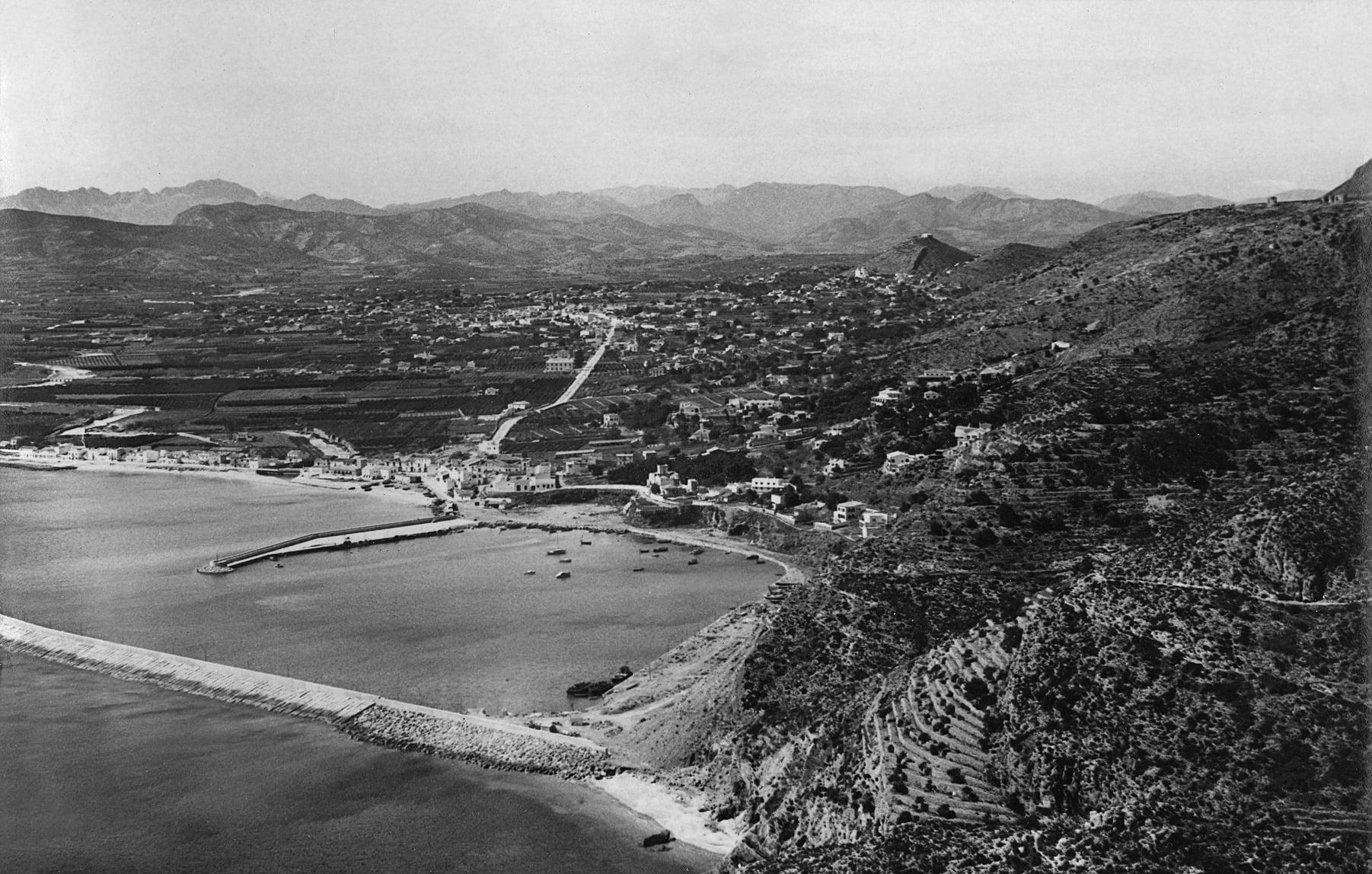 Cala del Tangó entre los años 1958 y 1966