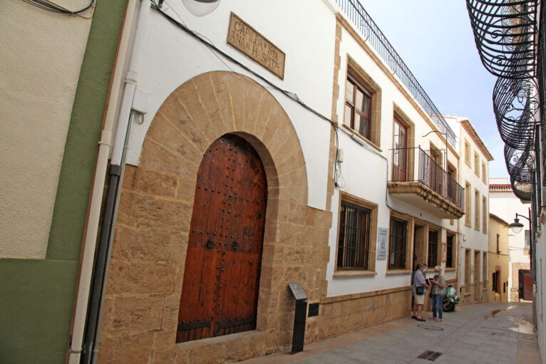 Capilla Santa Ana en Xàbia Histórica
