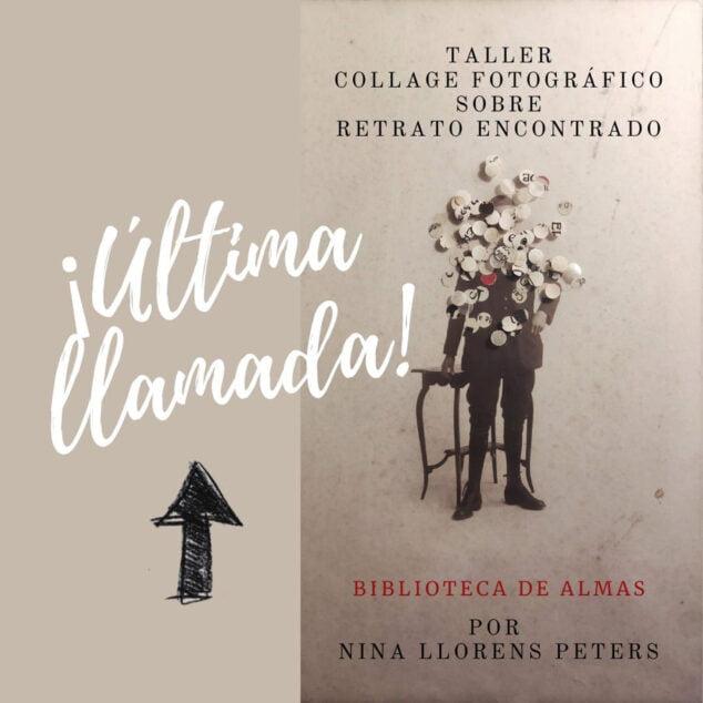 Imagen: Cartel del Taller Biblioteca de Almas