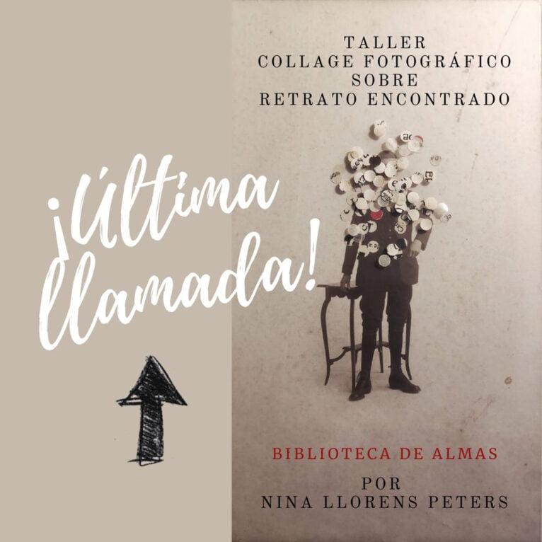 Cartel del Taller Biblioteca de Almas