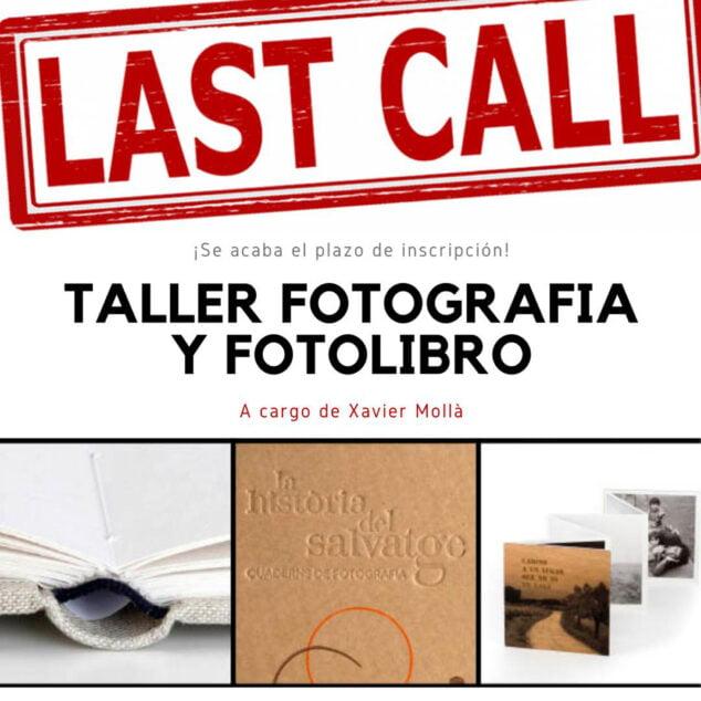 Imagen: Cartel del Taller Fotografía y Fotolibro