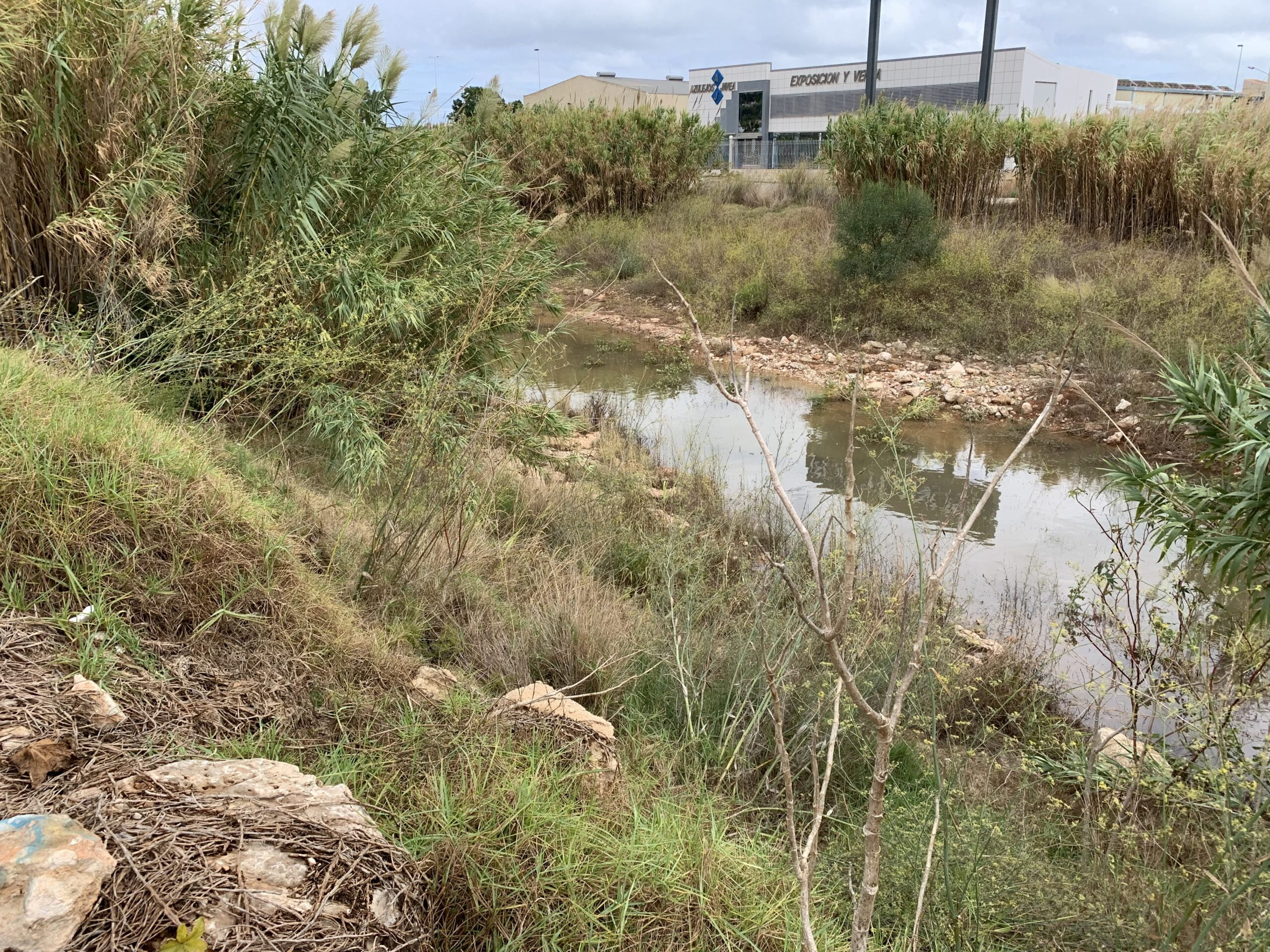 Cauce del río Gorgos