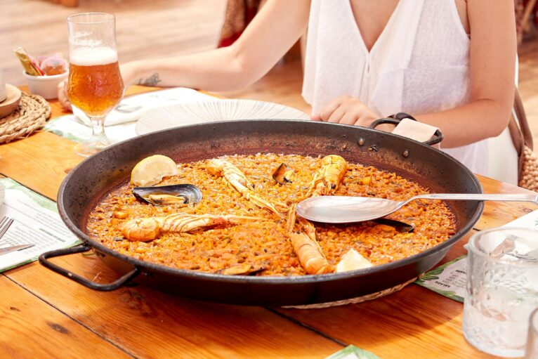 Comer arroz Javea - Isla Bonita