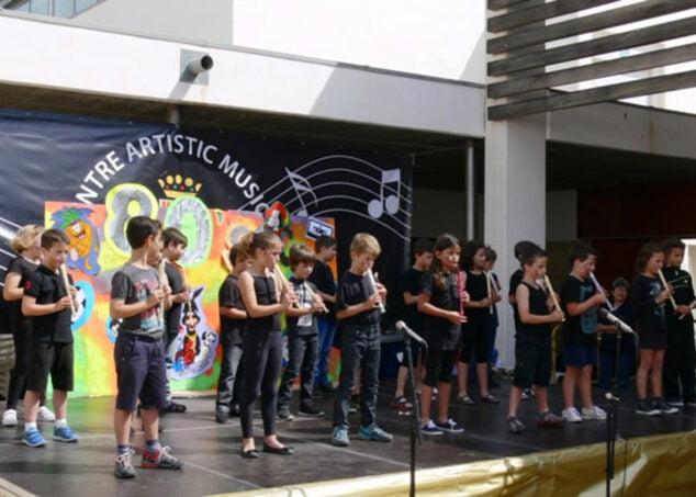 Imagen: Concierto de alumnos del Centre Artístic Musica de Xàbia